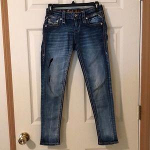 Rock Revival Celinda Ankle Skinny Jeans